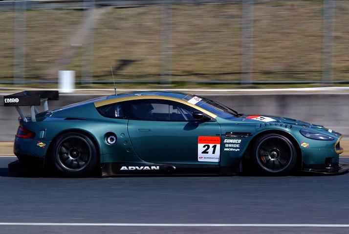 2009 Super Gtマシンlineup Gt500 Carno 21 Aston Martin ȵ�坂