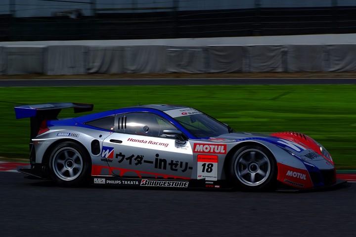 2010年度SUPER GT参戦マシンLineup(GT500): CarNo.18 ウイダー HSV-010(小暮卓史/ロイック・デュバル組)