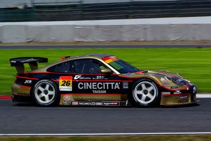 2010年度SUPER GT参戦マシンLineup(GT300): CarNo.26 CINECITTAタイサンポルシェ(イゴール・スシュコ/植田正幸組)