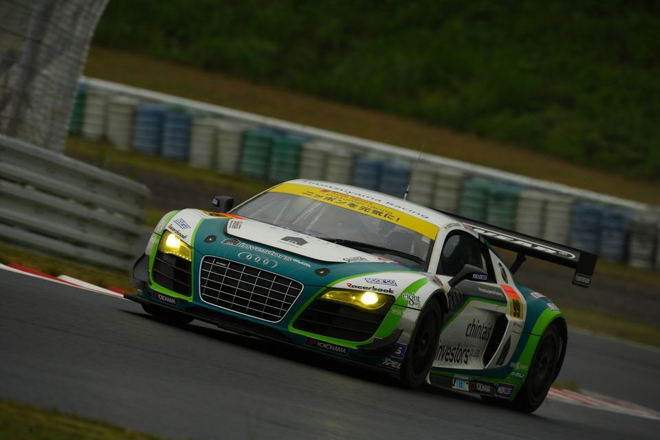 Audi R7 2012 http://www.fmotor.jp/2012/10/sgt-rd7-autopolis-best-6th-this-situation-hitotsuyama