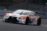 新スポンサーを獲得してカラーリングを一新した伊藤大輔/ニック・キャシディ組(GT500クラス・au TOM'S RC F)は6位