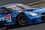 GT500クラス2位の安田裕信/ジョアオ・パオロ・デ・オリベイラ組(カルソニックIMPUL GT-R)