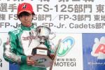 優勝した佐藤蓮(FLAX motor sports)
