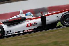 総合7位の阪口晴南(HFDP RACING F312)
