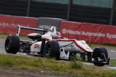 総合8位の大津弘樹(HFDP RACING F312)
