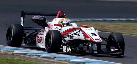 第12戦で2位表彰台を獲得した山下健太(TEAM TOM'S #36)