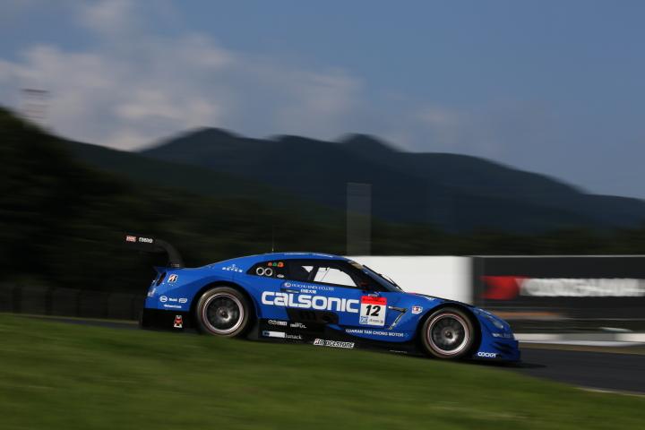 GT500クラスノックアウト予選Q2: ジョアオ・パオロ・デ・オリベイラ(カルソニックIMPUL GT-R)