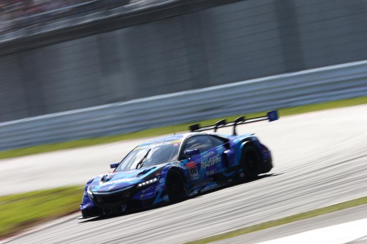 決勝レース: 山本尚貴(RAYBRIG NSX CONCEPT-GT)