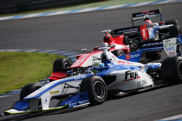 決勝レース: ウィリアム・ブラー(フジ・コーポレーションKONDO SF14)