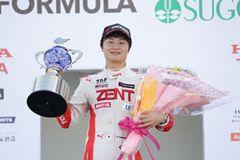 シリーズチャンピオンに輝いたTDPドライバー山下健太(TEAM TOM'S)