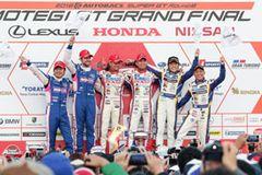 第8戦はLEXUS RC F勢が表彰台を含むトップ5を独占し、GT500クラス参戦最終戦の有終の美を飾った