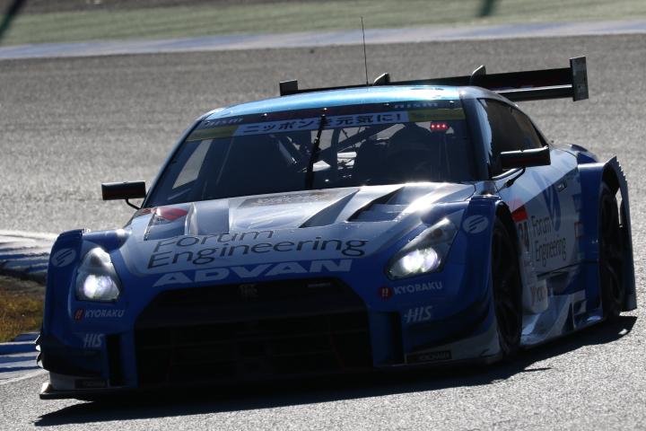 決勝レース: 佐々木大樹(フォーラムエンジニアリングADVAN GT-R)