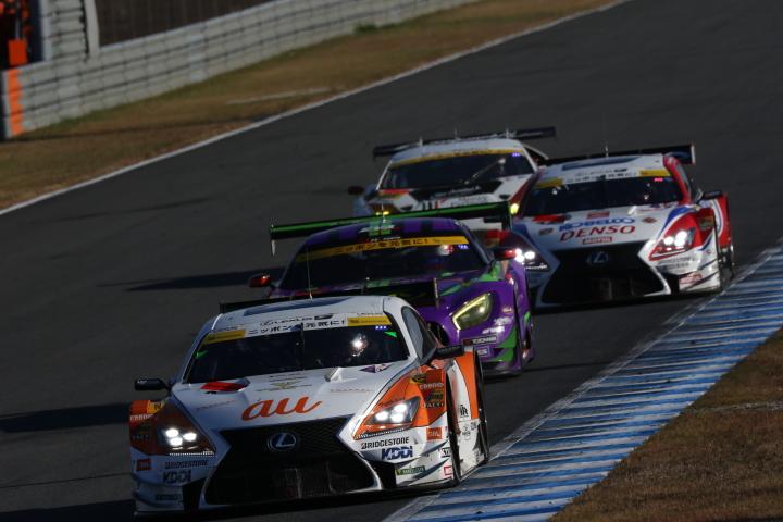 決勝レース: ニック・キャシディ(au TOM'S RC F)
