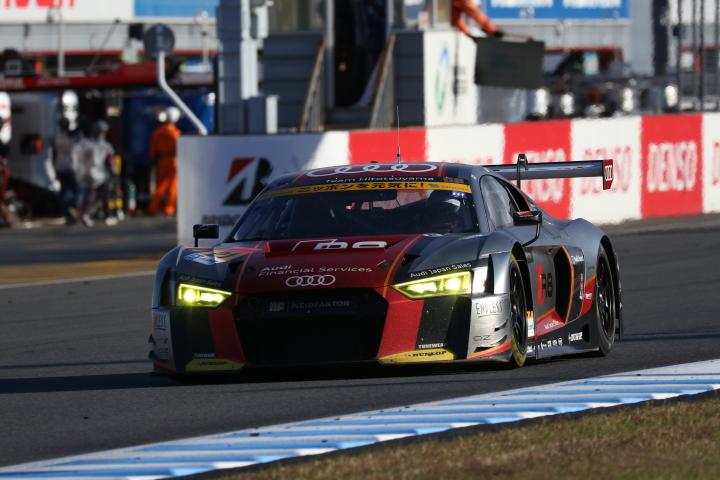 決勝レース: 藤井誠暢(Hitotsuyama Audi R8 LMS)
