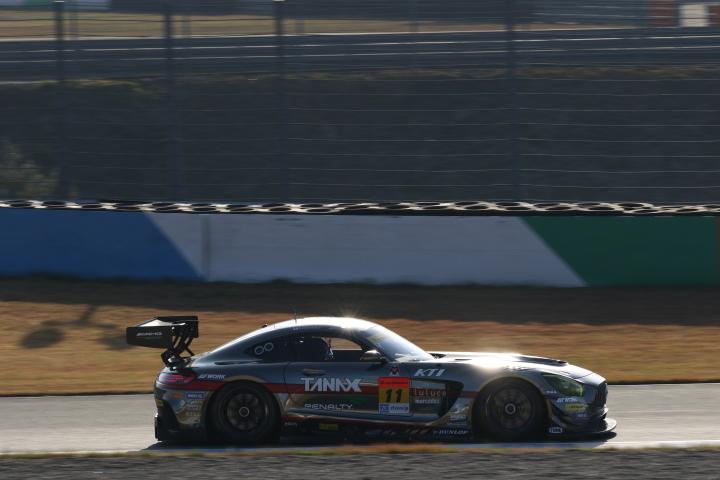 決勝レース: 平中克幸(GAINER TANAX AMG GT3)