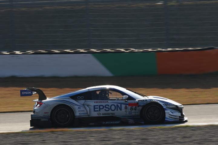 決勝レース: 中嶋大祐(Epson NSX CONCEPT-GT)