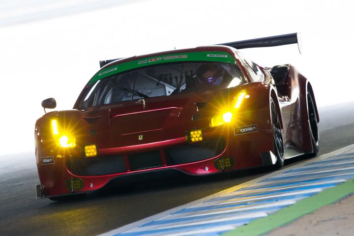 テストデー: ST-XクラストップタイムはARN Ferrari 488 GT3(Ferrari 488 GT3)
