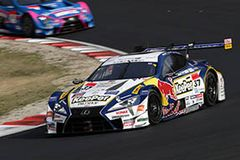 LEXUS LC500での初勝利を飾った平川亮/ニック・キャシディ組のKeePer TOM'S LC500 37号車