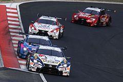 LEXUS LC500勢がスタートから上位を占めてレースを支配した