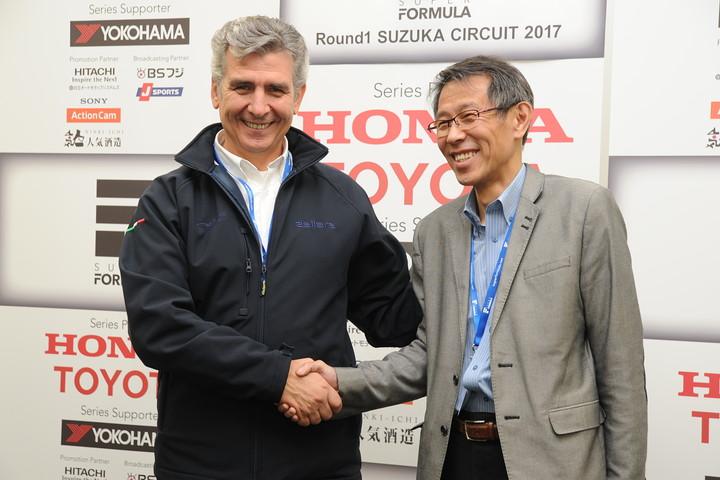 JRPサタデーミーティング: ラーラオートモビリのアンドレア・ポントレモーリ社長とJRP倉下明社長