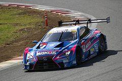 2位フィニッシュを果たした大嶋 和也/アンドレア・カルダレッリ組 WAKO'S 4CR LC500 6号車