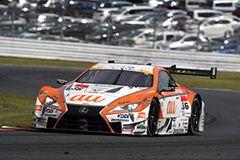 今季初勝利を挙げた中嶋 一貴/ジェームス・ロシター組 au TOM'S LC500 36号車