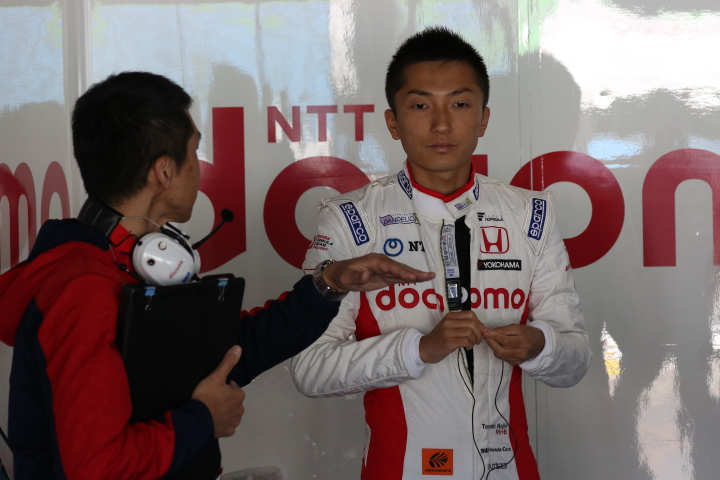レース2公式予選: 野尻智紀(DOCOMO TEAM DANDELION RACING)