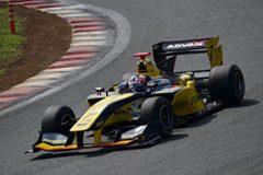 デビュー3戦目にして初の表彰台を獲得したフェリックス・ローゼンクヴィスト(SUNOCO TEAM LEMANS #7)