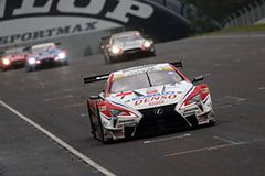 今季初勝利を挙げたDENSO KOBELCO SARD LC500 1号車