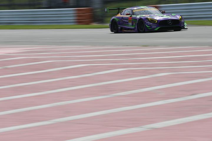 公式予選: 石川京侍/山下亮生組(エヴァRT初号機 Rn-s AMG GT)