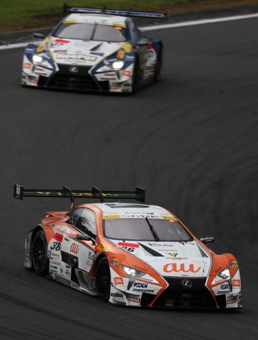 決勝レース: 中嶋一貴(au TOM'S LC500)