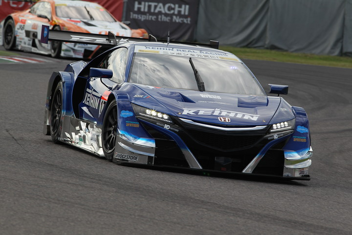 GT500クラス予選3位は塚越広大/小暮卓史組(KEIHIN NSX-GT)