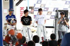 平川亮選手、大嶋和也選手、中山雄一選手がゲスト