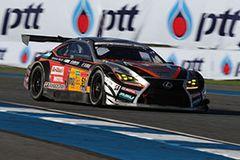 今季2勝目を挙げたJMS P.MU LMcorsa RC F GT3 51号車