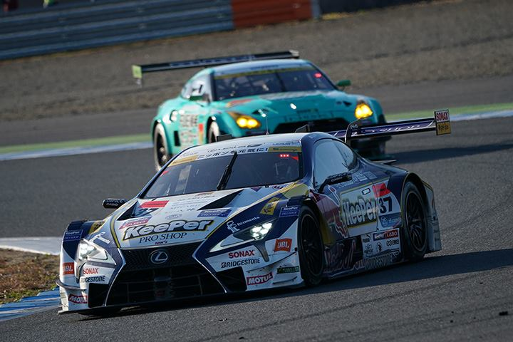 GT500クラス決勝2位は平川亮/ニック・キャシディ組(KeePer TOM'S LC500)