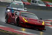 ST-Xクラス5位の永井宏明/佐々木孝太組(ARN Ferrari 488 GT3)