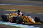 第13戦、第14戦とも予選2位の澤田真治(B-MAX RACING F110)