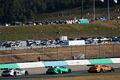 決勝レース: パレードラップを先導するDTMマシン