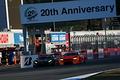 決勝レース: 蒲生尚弥(LEON CVSTOS AMG)がショーン・ウォーキンショー(ARTA BMW M6 GT3)を捉える