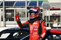 決勝レース: GT500クラスで優勝した松田次生(NISMO)