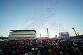 グランドフィナーレ: もてぎの上空に紙吹雪が舞う。2017年の長いシーズンが終わった