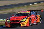 GT300クラス予選2位の高木真一/ショーン・ウォーキンショー組(ARTA BMW M6 GT3)