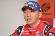 決勝記者会見: GT500クラスで優勝した松田次生(NISMO)