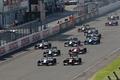 決勝レース: 68周のレースがスタートした