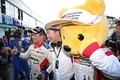 決勝レース: 関口雄飛、星野一義監督、トヨタくま吉