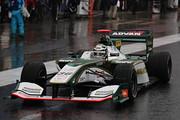 公式予選: レース1・ポールポジション、レース2・11位のアンドレ・ロッテラー(VANTELIN KOWA TOM'S SF14)