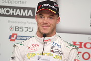 予選記者会見: レース1・ポールポジション、レース2・11位のアンドレ・ロッテラー(VANTELIN TEAM TOM'S)