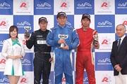 表彰式: 優勝・鈴木智之、2位・山内飛侑、3位・宮島雄太