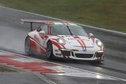グループ1決勝: ST-1クラスで優勝した小川勝人/影山正美/富田竜一郎組(Nissoku Porsche991 GT3 Cup)