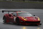 グループ1決勝: ST-Xクラスでチャンピオンを獲得した永井宏明/佐々木孝太組(ARN Ferrari 488 GT3)